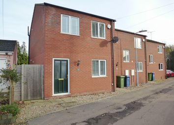 Thumbnail 2 bedroom end terrace house for sale in Elm Low Road, Elm, Wisbech