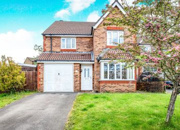 Thumbnail 3 bed detached house for sale in Cwrt Y Cadno, Birchgrove, Swansea