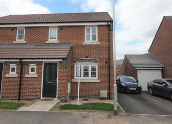 Thumbnail 3 bed semi-detached house for sale in Gallus Drive, Hinckley