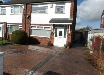 Thumbnail 3 bed semi-detached house to rent in Bruntwood Avenue, Heald Green, Cheadle