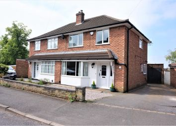 Thumbnail 3 bed semi-detached house for sale in Hogarth Road, Coalville