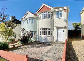 3 bed semi-detached house for sale in Manor Road, Plymstock, Plymouth PL9