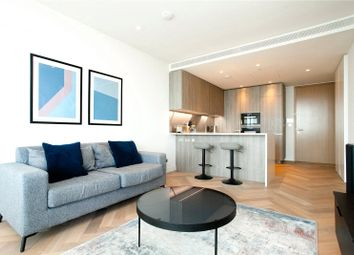 Thumbnail 1 bed flat to rent in Principal Tower, London
