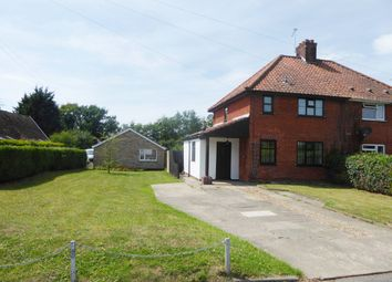 Thumbnail 3 bedroom semi-detached house for sale in 12 The Boundaries, Geldeston Road, Gillingham, Beccles