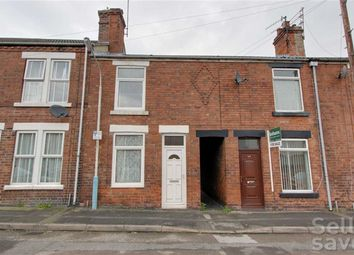 Thumbnail 2 bed terraced house for sale in Hardwick Street, Chesterfield, Derbyshire