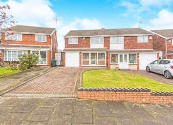 Thumbnail 3 bedroom semi-detached house for sale in Stanton Road, Great Barr, Birmingham, West Midlands