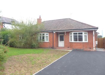 Thumbnail 4 bed detached bungalow for sale in Chester Road, Winsford