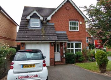 Thumbnail 3 bed detached house to rent in Cornflower Drive, Rugby