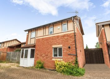Thumbnail 3 bed detached house to rent in Long Pasture, Peterborough