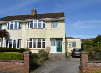 Thumbnail 3 bed semi-detached house for sale in Drysdale Close, Milton, Weston-Super-Mare