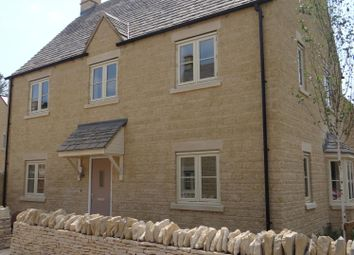 Thumbnail 4 bedroom detached house to rent in Hercules Close, Upper Rissington, Cheltenham