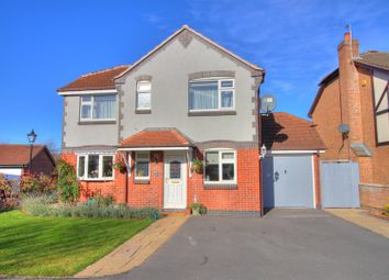 Thumbnail 4 bedroom detached house for sale in Wakefield Drive, Whitwick, Coalville