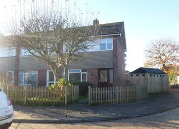Thumbnail 3 bed end terrace house to rent in Barn Close, Worthing