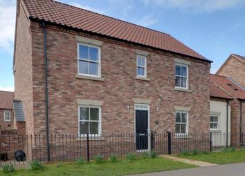 Thumbnail 4 bed detached house for sale in Station Road, Howden, Goole