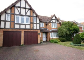 Thumbnail 5 bed detached house to rent in Moorhen Way, Buckingham