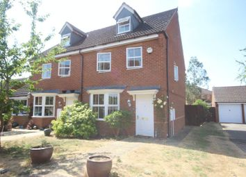 Thumbnail 3 bed semi-detached house to rent in Rustics Close, Calvert, Buckingham