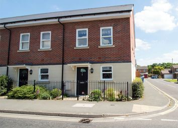 Thumbnail 3 bed end terrace house for sale in St. James Close, Fleet