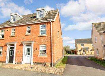 Thumbnail 3 bed semi-detached house for sale in Killick Crescent, Carlton Colville, Lowestoft