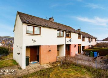 Thumbnail 3 bed end terrace house for sale in Cluny Road, Dingwall, Highland