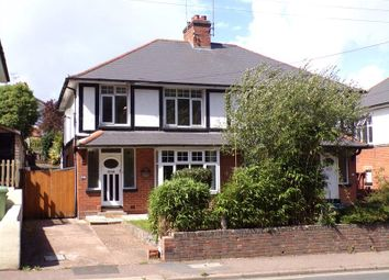 3 bed semi-detached house for sale in Bradham Lane, Exmouth EX8