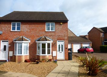 Thumbnail 2 bed end terrace house for sale in Odin Close, Bedford