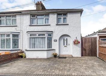 Thumbnail 3 bed semi-detached house for sale in Vincent Road, Sittingbourne, Kent