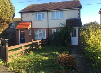Thumbnail 2 bed semi-detached house to rent in Leaside, Houghton Regis, Dunstable