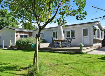 Thumbnail 3 bed mobile/park home for sale in Northfields Lane, Westergate, Chichester, West Sussex