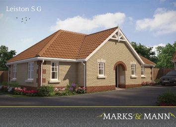 Thumbnail 3 bedroom detached bungalow for sale in Plot 204 Edgecomb Park, Stowmarket, Suffolk