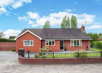 Thumbnail 4 bed detached bungalow for sale in Moss Road, Congleton