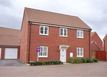 Thumbnail 4 bed detached house for sale in Rosemary Drive, Witham St Hughs