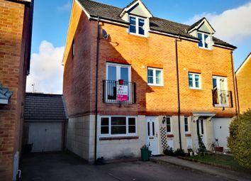 Thumbnail 4 bedroom town house to rent in Nant Y Dwrgi, Llanharan, Pontyclun