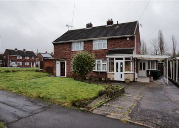 Thumbnail 2 bedroom semi-detached house for sale in Sunnymede Road, Kingswinford
