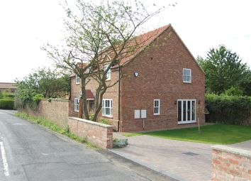 Thumbnail 4 bed detached house to rent in Low Road, Worlaby, North Lincolnshire