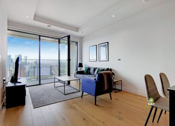 Thumbnail 1 bed flat for sale in City Island Way, London