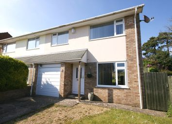 Thumbnail 3 bed semi-detached house for sale in Diprose Road, Corfe Mullen, Wimborne
