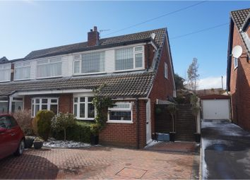 Thumbnail 3 bed semi-detached house for sale in Moorgate Road, Stalybridge
