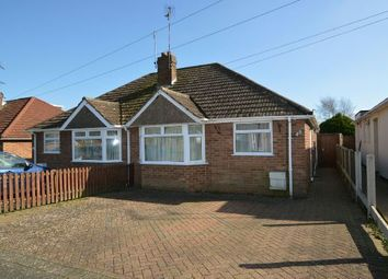 Thumbnail 2 bedroom semi-detached bungalow for sale in Fuller Road, Moulton, Northampton