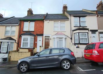 Thumbnail 2 bed terraced house to rent in Corporation Road, Gillingham, Kent