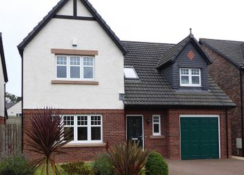 Thumbnail 4 bed detached house for sale in Haining Court, Dumfries, Dumfries And Galloway.