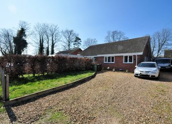Thumbnail 2 bed semi-detached bungalow to rent in Manor Road, Long Stratton, Norwich