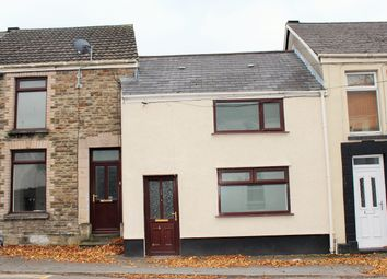 Thumbnail 3 bed terraced house to rent in Glebe Road, Loughor, Swansea