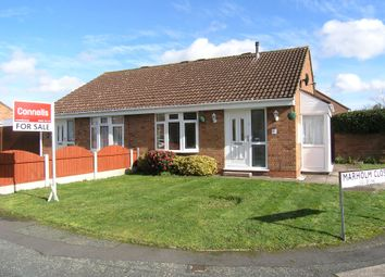 Thumbnail 2 bed semi-detached bungalow for sale in Tebworth Close, Off Leybourne Crescent Pendeford, Wolverhampton