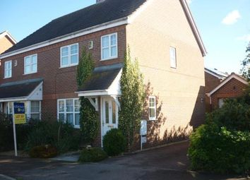 Thumbnail 3 bed semi-detached house to rent in Trow Close, Cotton End, Bedford