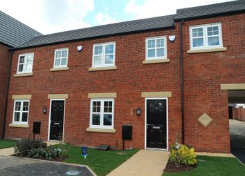 Thumbnail 3 bed town house to rent in Ling Road, Loughborough