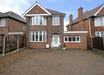 Thumbnail 3 bed detached house for sale in Pasture Road, Stapleford, Nottingham