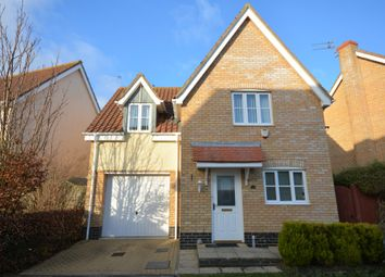 Thumbnail 3 bed detached house for sale in Willowbrook Close, Carlton Colville, Lowestoft