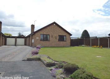 Thumbnail 2 bed detached bungalow for sale in Mere Road, Weston, Crewe