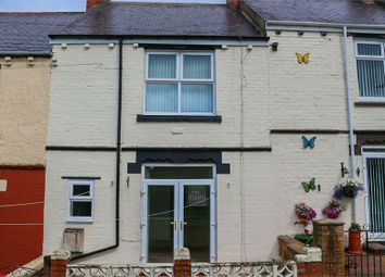 Thumbnail 2 bed terraced house for sale in Pea Road, Stanley, Durham