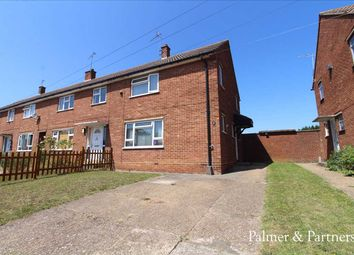 Thumbnail 3 bed end terrace house for sale in Goldcrest Road, Ipswich